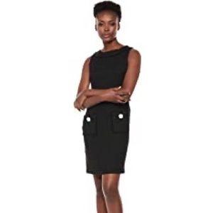 NWT - Karl Lagerfeld Tweed Pocket Dress